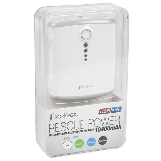 IO Magic 10,400mAh Portable Power Bank - I016B13PB