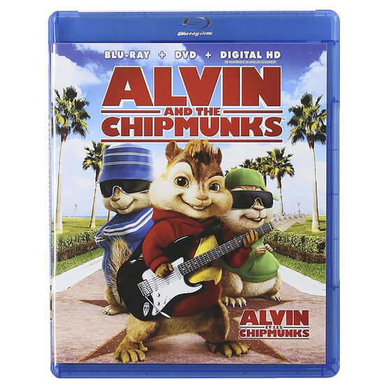 Alvin And The Chipmunks - Blu-ray