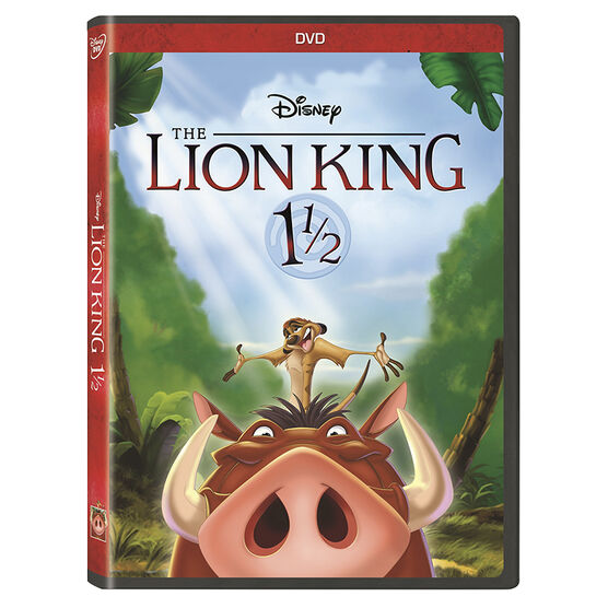 The Lion King 1 ½ - DVD