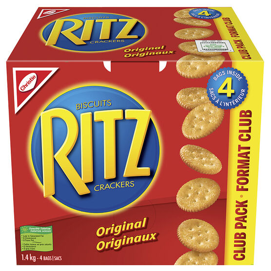 Christie Ritz Crackers Club Pack - 1.4kg