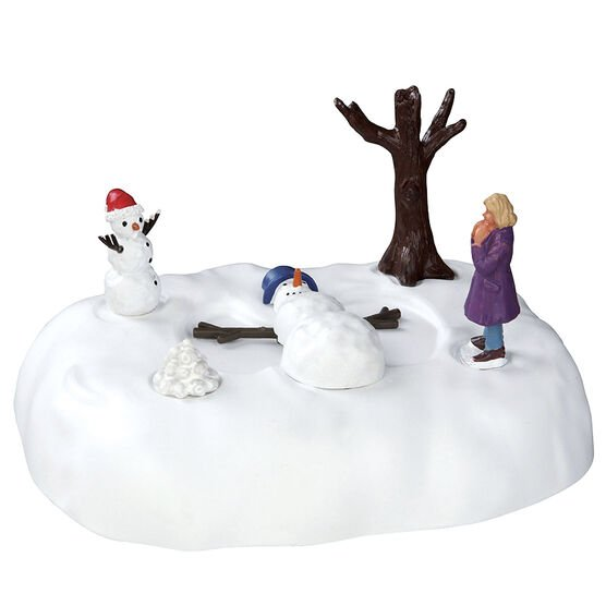 Lemax Snowman Angel - Battery Operated - 4.5V