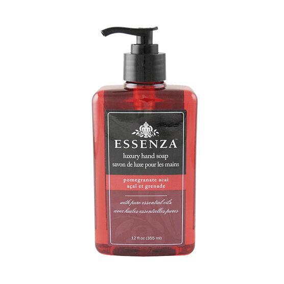 Essenza Luxury Hand Soap - Pomegranate Acai - 355ml