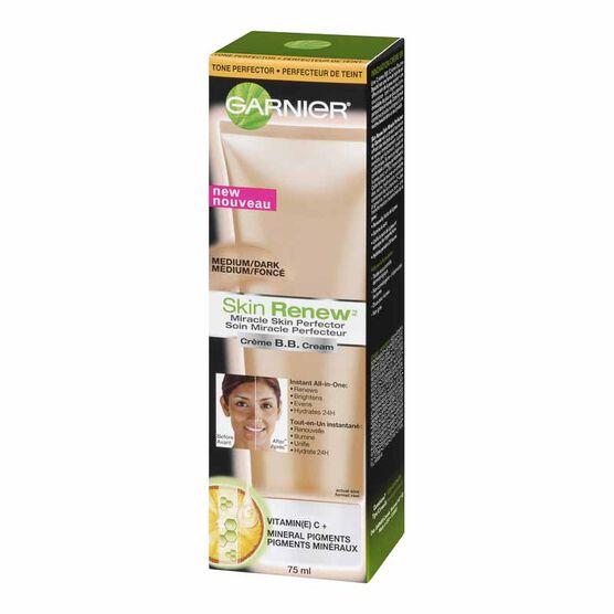 Garnier Skin Renew BB Cream Miracle Skin Perfector - Medium/Dark - 75ml