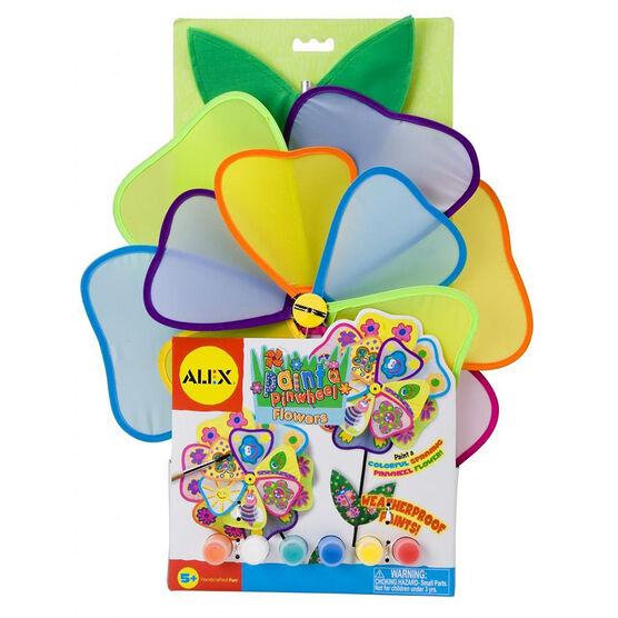 Alex Paint A Pinwheel Flower