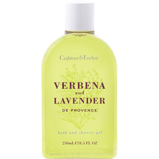 Crabtree & Evelyn Verbena and Lavender de Provence Shower Gel - 250ml