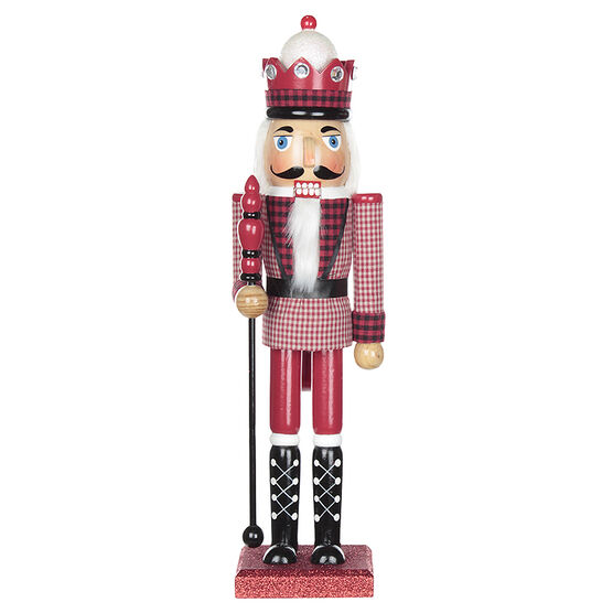 Winter Wishes Wood Nutcracker - 15in