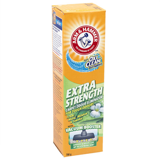 Arm & Hammer Odour Eliminator Carpet Powder - Extra Strength - 700g