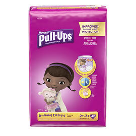 Pull-Ups Learning Designs Training Pants - Girls - Size 2T-3T - 42's