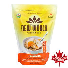 New World Organic Pumpkin Flax Granola - 908g