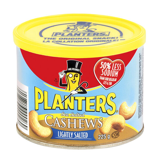Planters Cashews - Light Salt - 225g