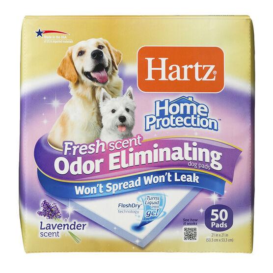 Hartz Odour Eliminating Dog Training Pads - 50's
