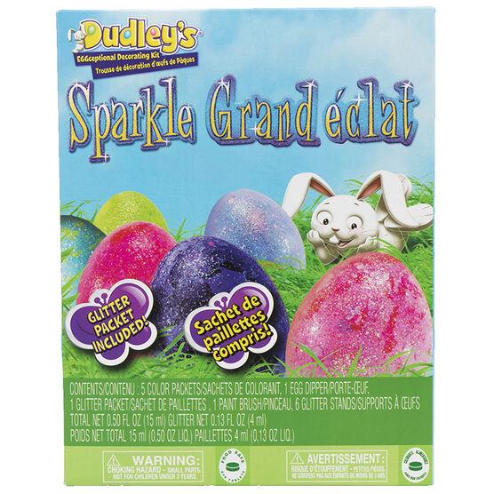 Dudley's Eggceptional Decorating Kit - Sparkle