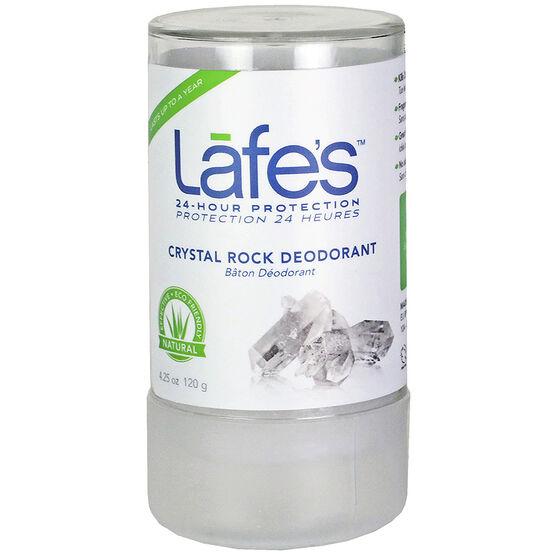 Lafe's Crystal Rock Deodorant - 120g