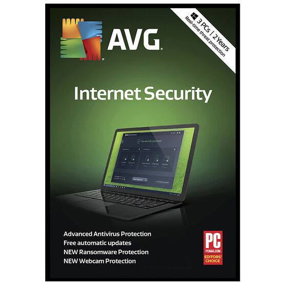 AVG Internet Security 2018 - Unlimited Users - 2 Years