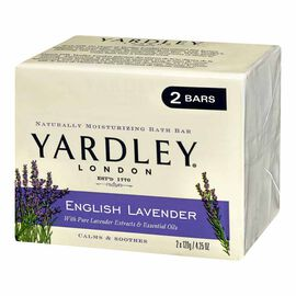 Yardley English Lavender Soap - 2x120g