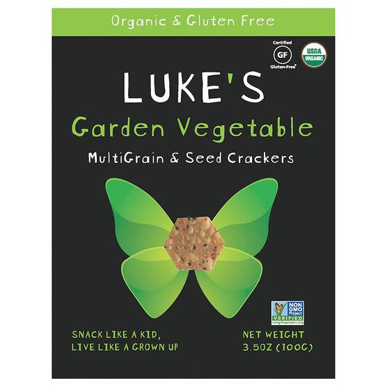 Luke's Crackers - Garden Vegetable - 100g
