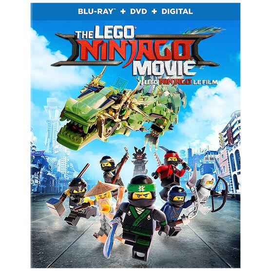 The Lego Ninjago Movie - Blu-ray