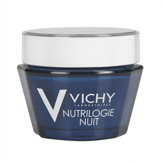 Vichy Nutrilogie Intensive Nourishing Night Cream - 50ml