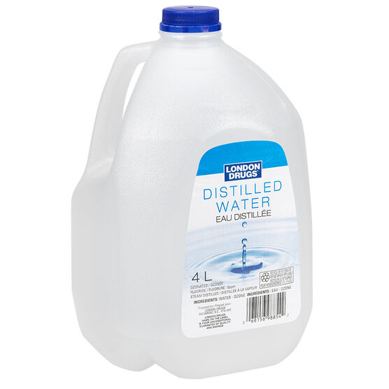 London Drugs Distilled Water - 4L