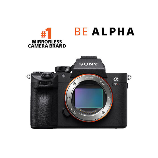 PRE-ORDER: Sony a7R III Body Only - Black - ILCE-7RM3