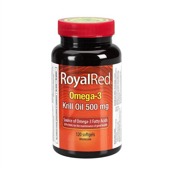 Webber RoyalRed Omega-3 Krill Oil - 500mg - 30's