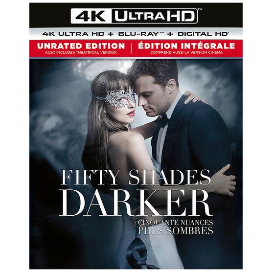 Fifty Shades Darker - 4K UHD Blu-ray