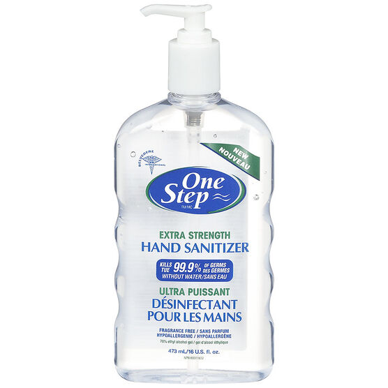 One Step Extra Strength Hand Sanitizer - 473ml