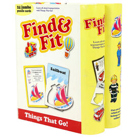Find 'n' Fit Things That Go