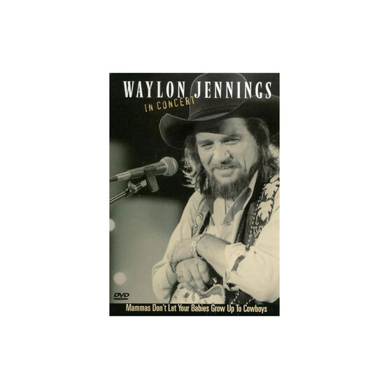 Waylon Jennings: In Concert - DVD