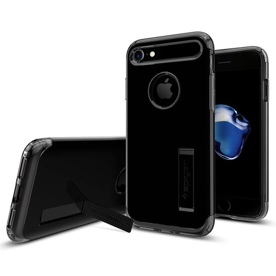 Spigen Slim Armor Case for iPhone 7 - Jet Black - SGP042CS20842