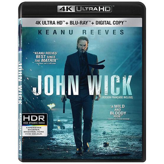 John Wick - 4K UHD Blu-ray