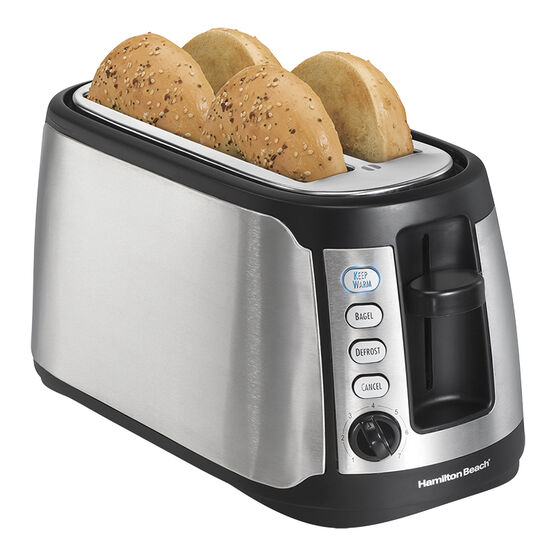Hamilton Beach Long Slot Toaster - Stainless Steel - 24810C