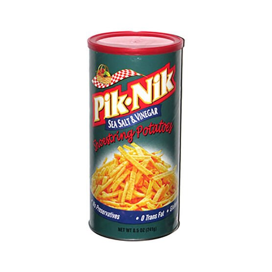 Pik Nik Potato Sticks- Sea Salt & Vinegar - 241g