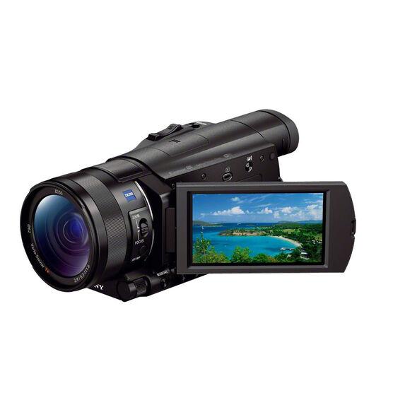 Sony FDRAX100B 4K Handy Cam - Black - FDRAX100B