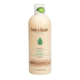 Live Clean Liquid Hand Soap Refill - Agran Oil - 1L