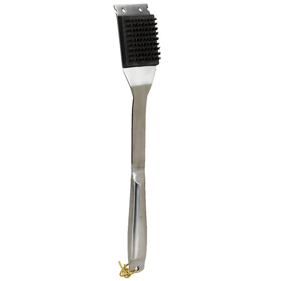 Mr. BBQ Forged Grill Brush - Stainless Steel