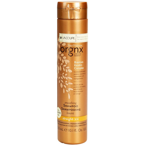 Orgnx Brazilian Keratin Complex Smoothing Shampoo - Straight - 300ml