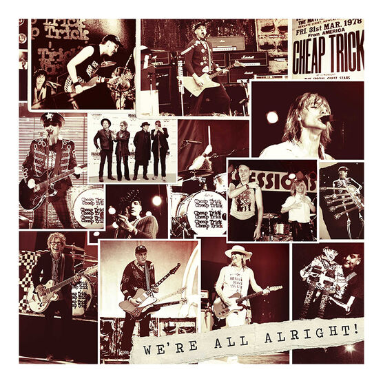 Cheap Trick - We're All Alright - CD