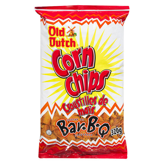 Old Dutch Corn Chips - BBQ - 320g