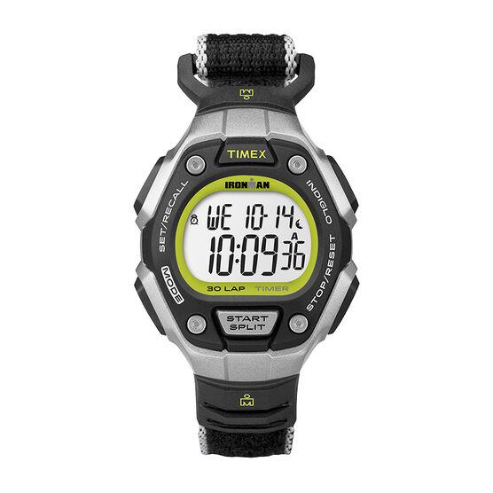 Timex Ironman 30 Lap Mid Size Watch - Black/Lime - TW5K89800GP