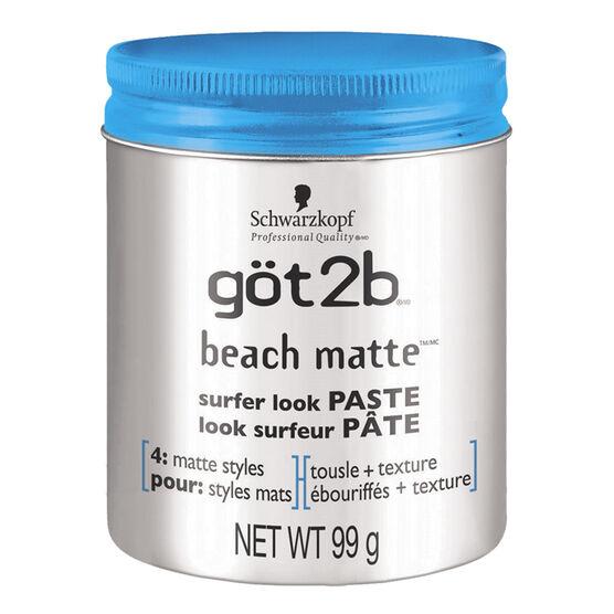 got2b Beach Matte Surfer Look Paste - 99g