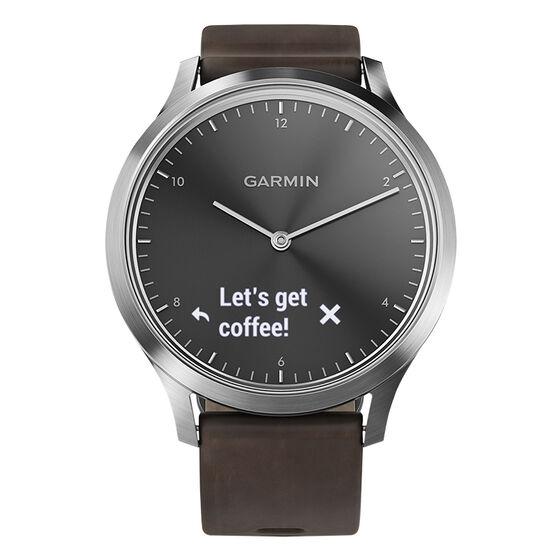 Garmin Vivomove HR Premium - Black/Silver - 100185004