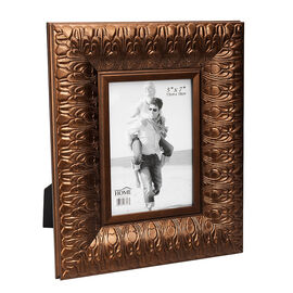 London Home Picture Frame - Metallic Flower - 5x7in