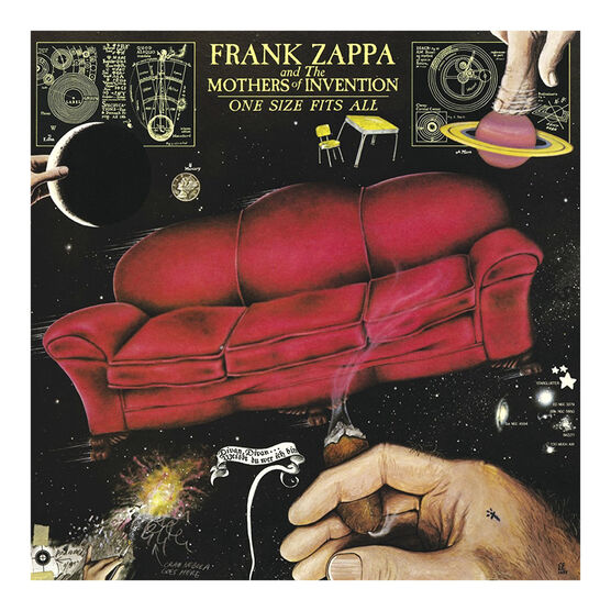 Frank Zappa and The Mothers of Invention - One Size Fits All - Vinyl