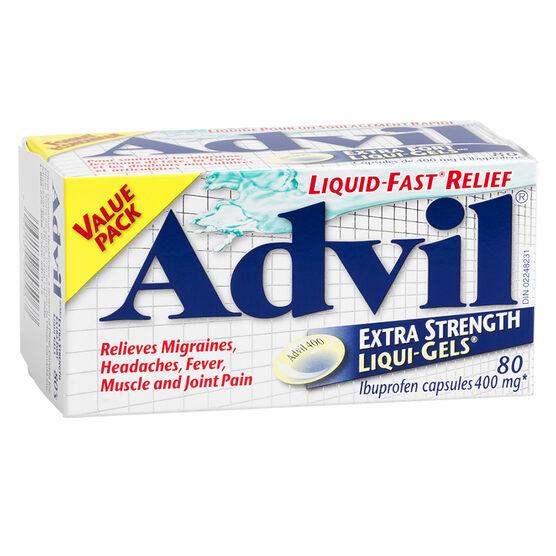 Advil Extra Strength Liqui-Gels - 80's