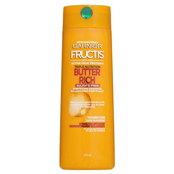 Garnier Fructis Butter Rich Shampoo - 370ml