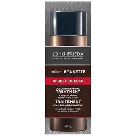 John Frieda Brilliant Brunette Visibly Deeper Treatment - 120ml