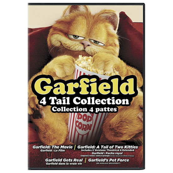 Garfield: 4 Tail Collection - DVD