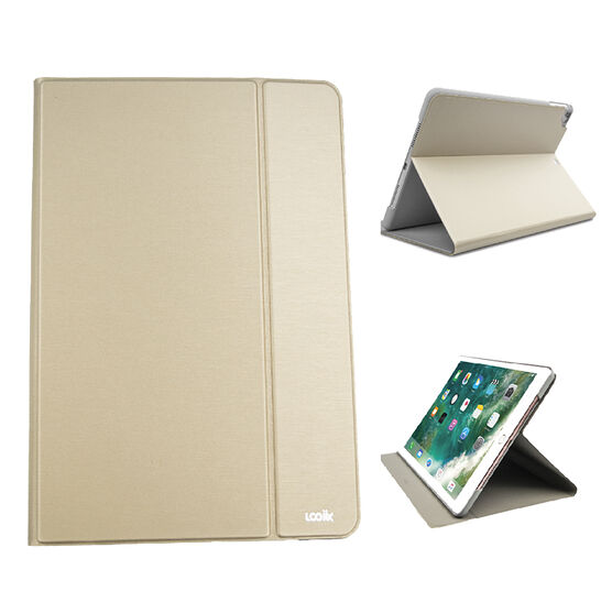 Logiix Slim Folio iPad Case - 9.7 Inch Universal - Blush Gold