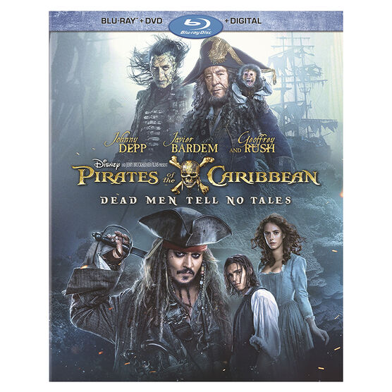 Pirates of the Caribbean: Dead Men Tell No Tales - Blu-ray